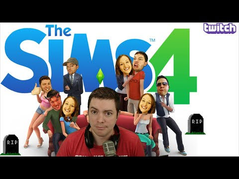 The Sims 4 Gameplay Part 1 Intro, Info - Livestream Announcement! - JonOfAllSims