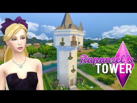 The Sims 4: Rapunzel's Tower | Speed build + Download