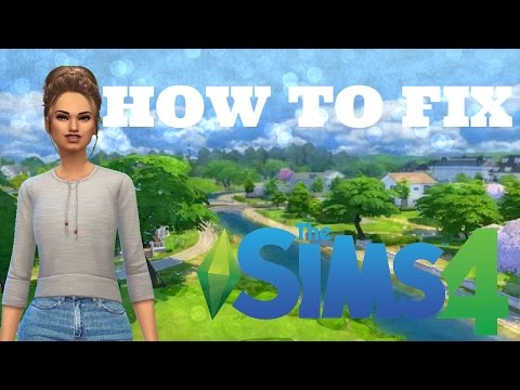 The Sims 4 How To FIX Custom Hair Glitch