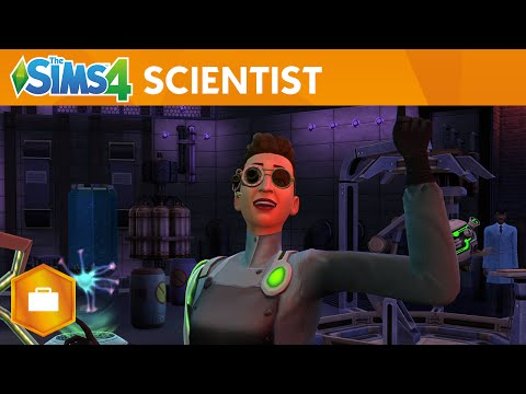 The Sims 4 Get to Work: Official Scientist Gameplay Trailer