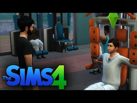 Creepy Staring Guy - The Sims 4 Get Together Pt. 4 of 5