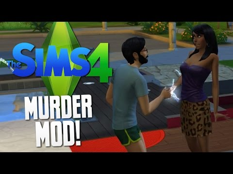 The Sims 4 - MURDER MOD! - The Sims 4 Funny Moments #29