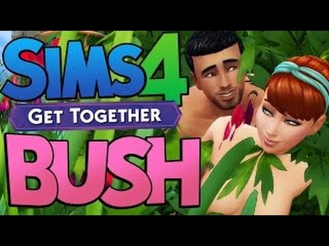MessYourself Sims 4 - WOOHOO IN A BUSH?!? PUBLIC WOOHOO? - The Sims 4 Get Together DLC