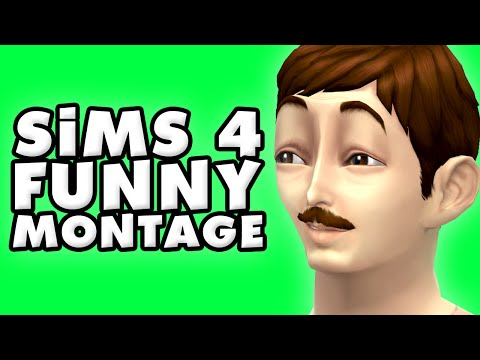The Sims 4 Funny Montage!