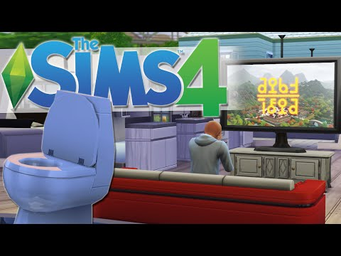GIANT TVs, TOILETS AND JUST $1 | The Sims 4 Gameplay #3