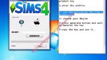 The Sims 4 Keygen Serial Code Cd Key Generator Free ...