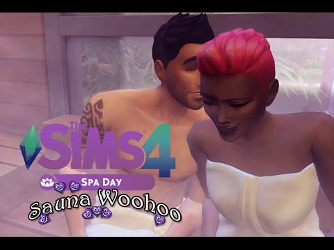Sims 4 Spa Day: Sauna WooHoo (Review Teaser)