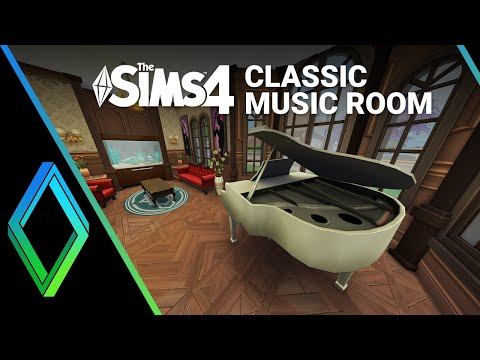 Sims 4 Music Room - Room Building