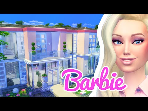 The Barbie Dreamhouse: The Sims 4 Build