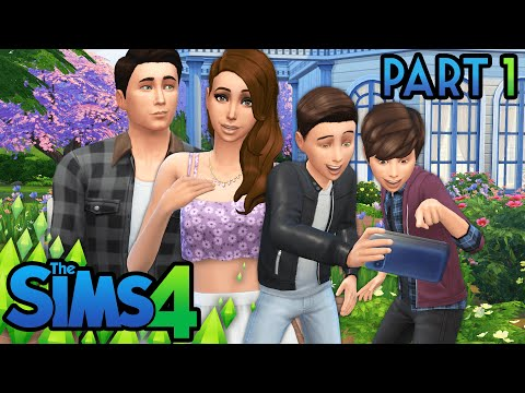 Let's Play | The Sims 4 Part 1: Create A Sim