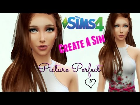 The Sims 4 : Create A Sim - Picture Perfect