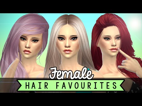 Custom Content Hairstyles - Females - (THE SIMS 4)