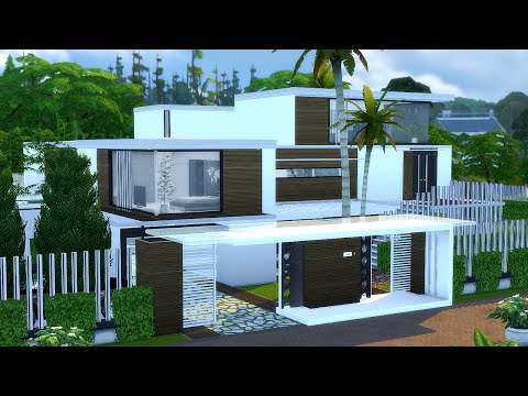 BEST MODERN HOUSE The Sims 4 - Villa Mansion