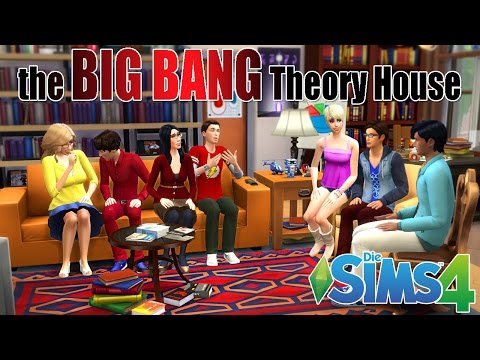 The BIG BANG Theory House (Sims4)