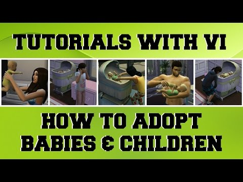 Tutorials With Vi - How To Adopt In The Sims4