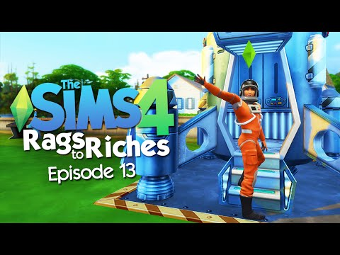 The Sims 4: Rags to Riches Challenge - WOOHOO in SPACE!?