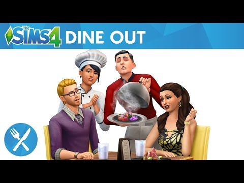 Reaction: The Sims 4 Dine Out: Own Restaurants Official Gameplay Trailer