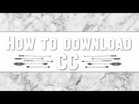 *TUTORIAL* HOW TO DOWNLOAD CUSTOM CONTENT FOR THE SIMS 4!