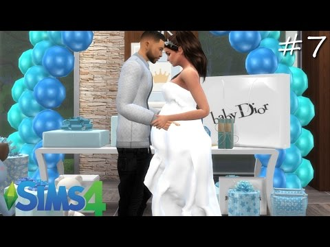 Teenage pregnancy l BABY SHOWER l Episode 7 I A Sims 4 Series
