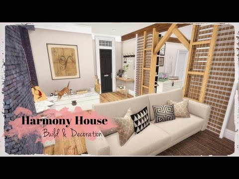 Sims 4 - Harmony House (House & Mods for download) Part2