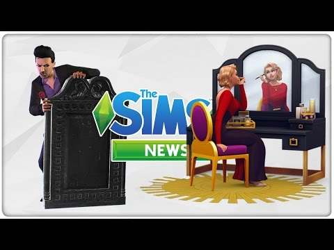 Vampir Gameplaypack & Vintage Glamour Stuff | Sims 4 News #50
