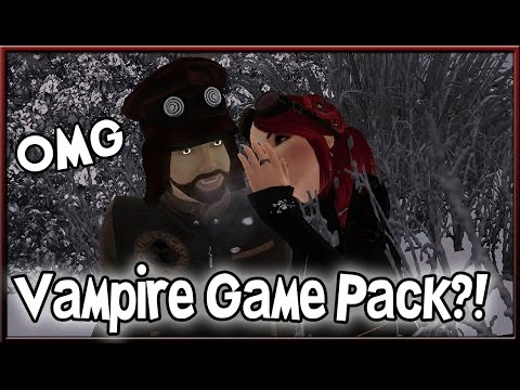 The Sims 4 Info/Thoughts: Are Vampires the Next Game Pack?!
