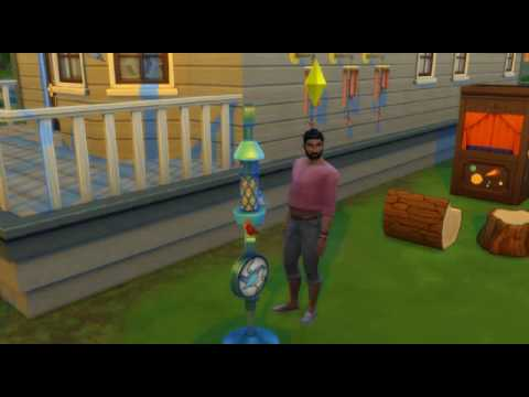 Sims 4 Backyard Stuff Bird Feeder Graphical Glitch