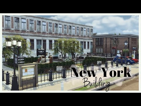 Sims 4 - New York Building (Lot + Mods for download) Part1