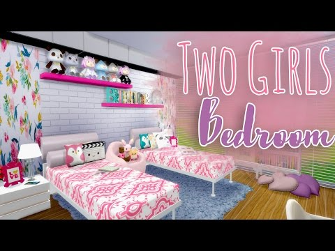 The Sims 4 - Two Girls Bedroom - DOWNLOAD!