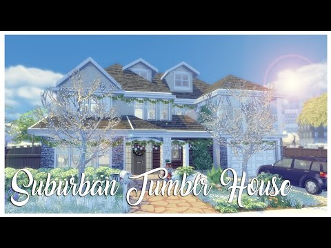 The Sims 4: House Build | Suburban Tumblr House | Part 2 + Download!