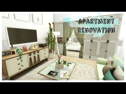 Sims 4 - Apartment Renovation II - Art District (House + Mods for download)