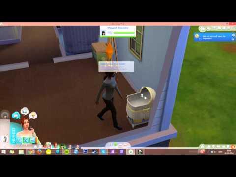 Glitch in the sims 4