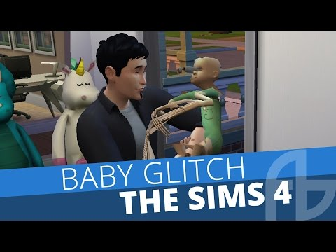 The Sims 4 Glitch Baby