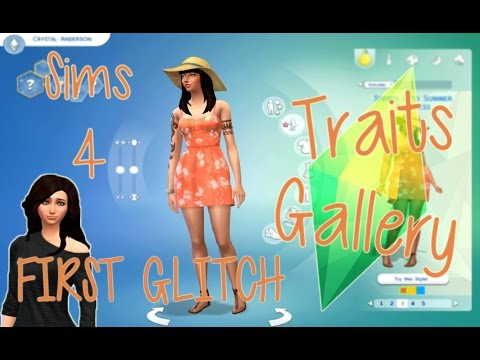 ♥ The Sims 4: In Depth | FIRST GLITCH, Aspirations, Traits, Options, Gallery! W/ Commentary