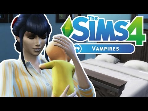 BABY VAMPIRE ARRIVAL | The Sims 4 Vampires | Episode 3