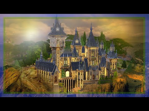 The Sims 4 Speed Build | Hogwarts