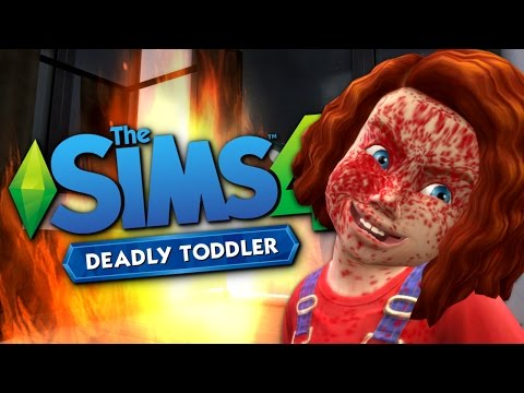 CHUCKY - Deadly Toddler Mod - The Sims 4 Funny Story #5