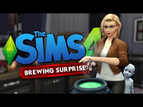 WITCH BREWING SURPRISE - The Sims 4 Funny Story #9