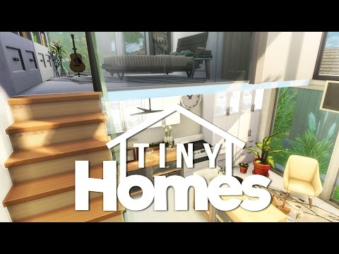 The Sims 4 Building: Tiny Homes // Lovely Modern Loft