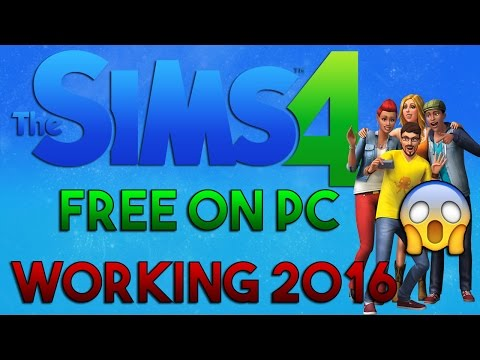 HOW TO INSTALL THE SIMS 4 FREE PC WINDOWS 7/8/10 | WORKING 100% 2017