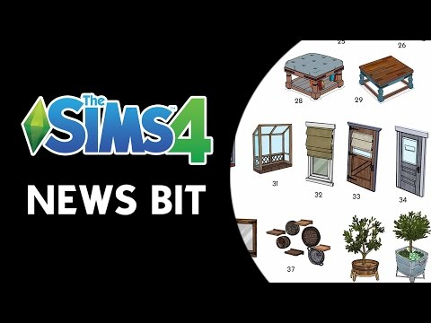 The Sims 4 News Bit: Vote for Eco Living's Objects and Clothing!