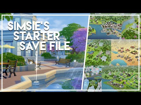 I REMADE EVERY WORLD?! // The Sims 4: Save File Download