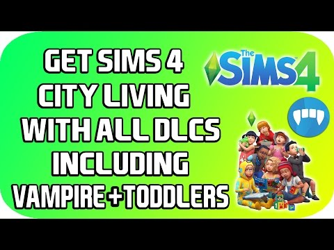 *NEW* Download The Sims 4 City Living Including Toddlers + Vampire FREE PC [WORKING 100%]