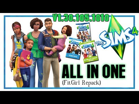 The Sims 4 (v1.30.105.1010) ALL IN ONE (Deluxe Edition) All DLC's & Add-Ons