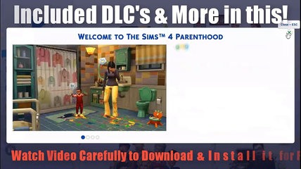 The Sims 4 Download & Install Deluxe Edition with All DLC's Free on PC Without Error (Simple & Fast)