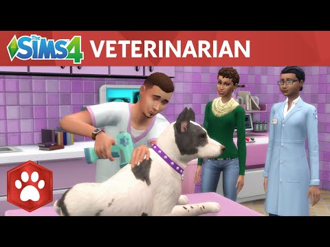 The Sims 4 Cats & Dogs: Veterinarian Official Gameplay Trailer