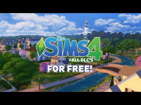 How to Download Sims 4 for FREE on PC + Latest DLC's (Fast & Easy!) (Voice Tutorial)
