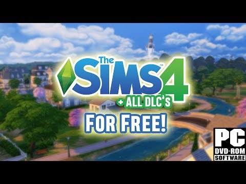 How to Download The Sims 4 For FREE on PC + ALL DLC's (2017/2018)
