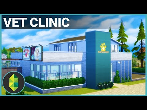 VET CLINIC | The Sims 4 Building