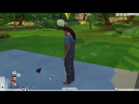 The Sims 4 Cats & Dogs - My Rottie Puppy Funny Glitch